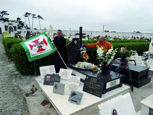 Núcleo de Combatentes  homenageia ciclista  Joaquim Agostinho