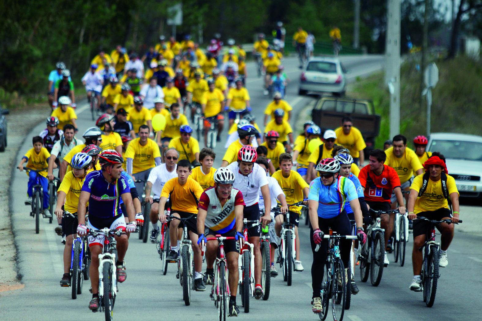 Dia Europeu Sem Carros  com caminhada e cicloturismo