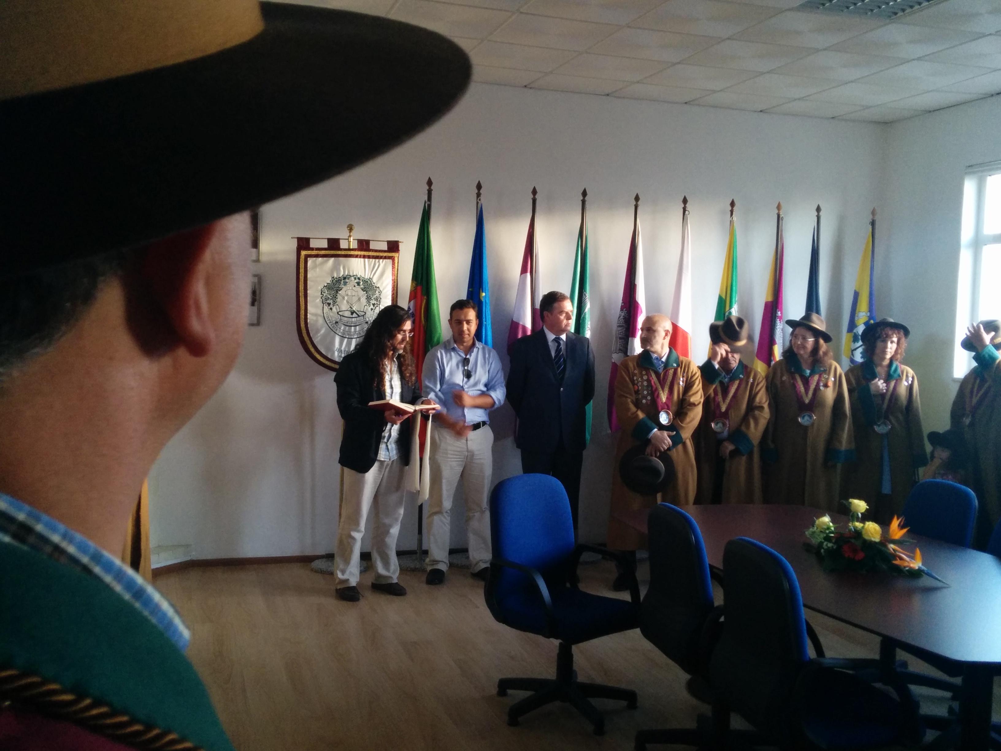 Confraria dos Rojões da Bairrada inaugura sede na Escola Primária