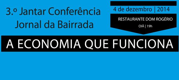 3.º Jantar Conferência Jornal da Bairrada