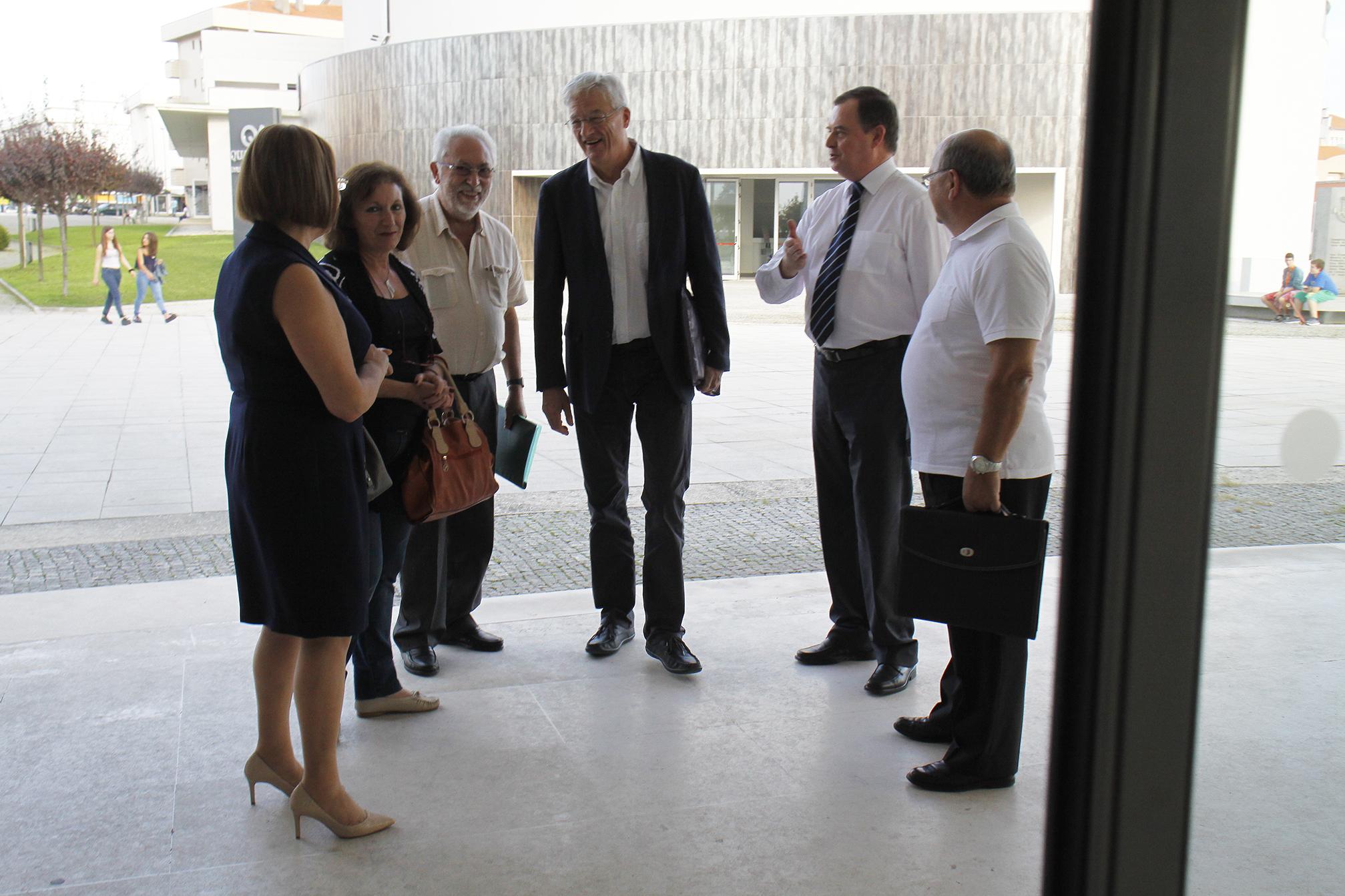 Mário João reúne com  o homólogo de Lamballe