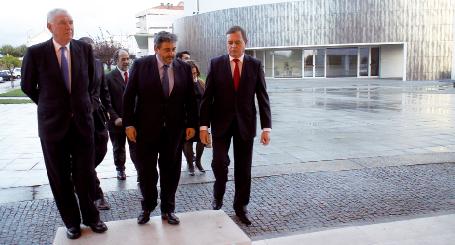 Secretário de Estado  e Embaixador Espanhol visitam concelho empresarial