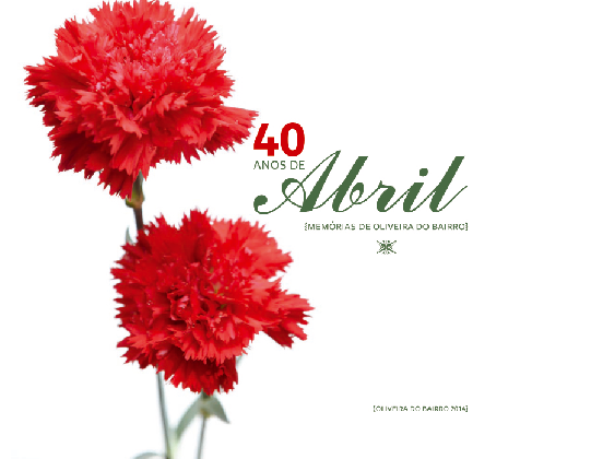 Livro sobre os 40 anos de Abril lançado em 2015