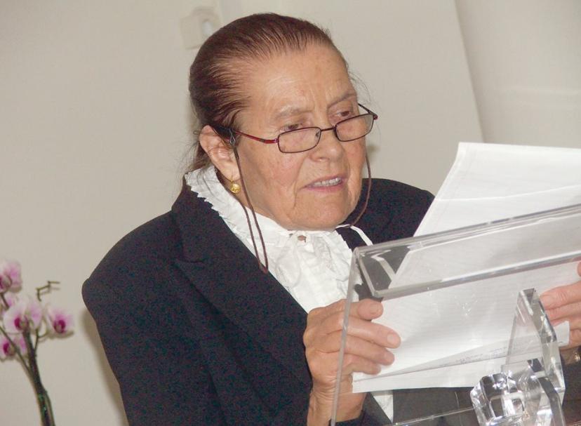 Rosinda de Oliveira faleceu