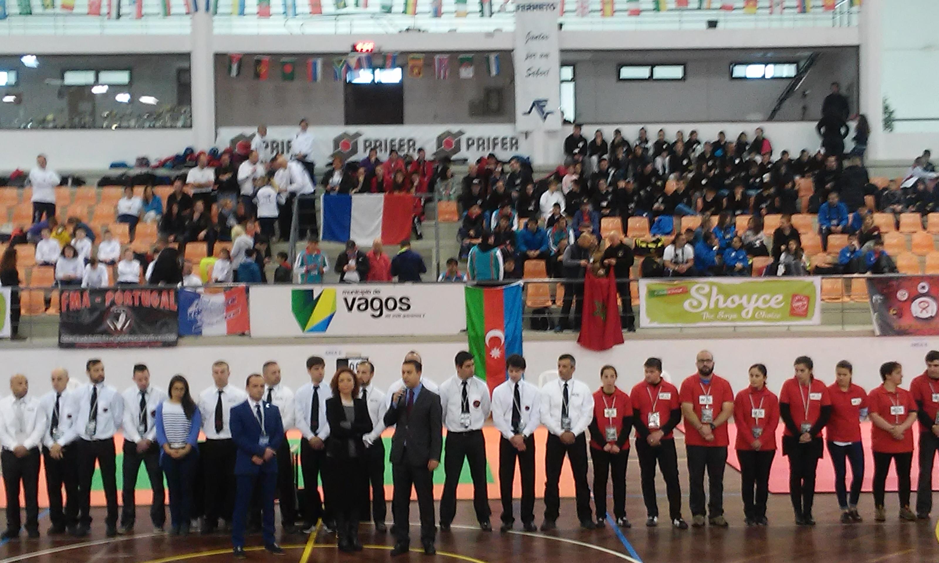 Vagos recebe 5º Campeonato do Mundo de Artes Marciais