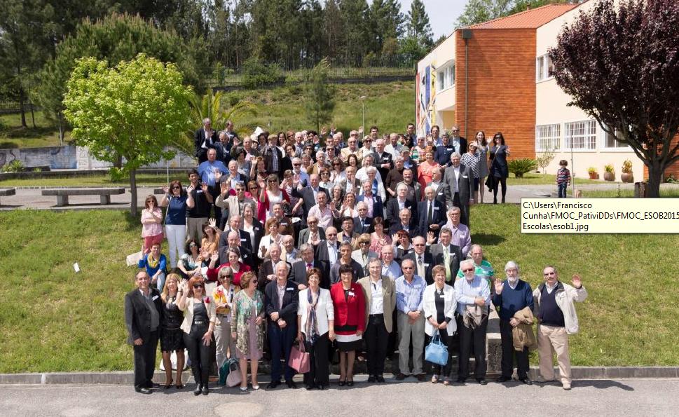 Encontro dos antigos alunos das escolas de Oliveira do Bairro