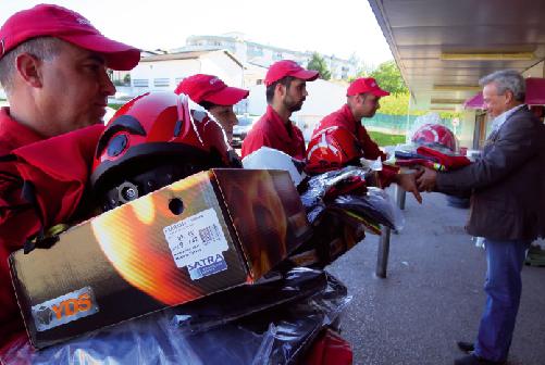 Intermarché entrega equipamentos aos bombeiros de Oliveira do Bairro