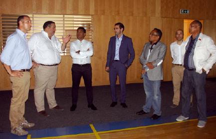 Secretário de Estado do Desporto de Timor visita concelho