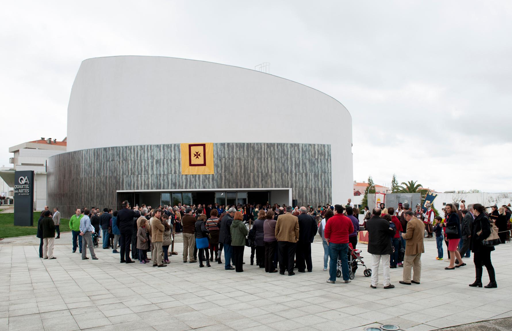 Autarquia acolhe comunidade educativa no Quartel das Artes Dr. Alípio Sol