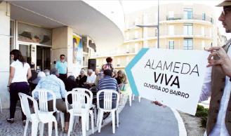 """""""Alameda Viva"""" trouxe gente à rua"""