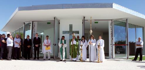 D. António Moiteiro benzeu Capela da Ressurreição