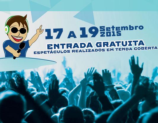 Festa da Juventude no Parque dos Pinheiros Mansos de 17 a 19 de setembro