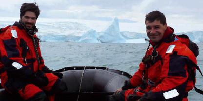 Alunos do IPSB e do IPB em direto  com biológo a partir da Antártida