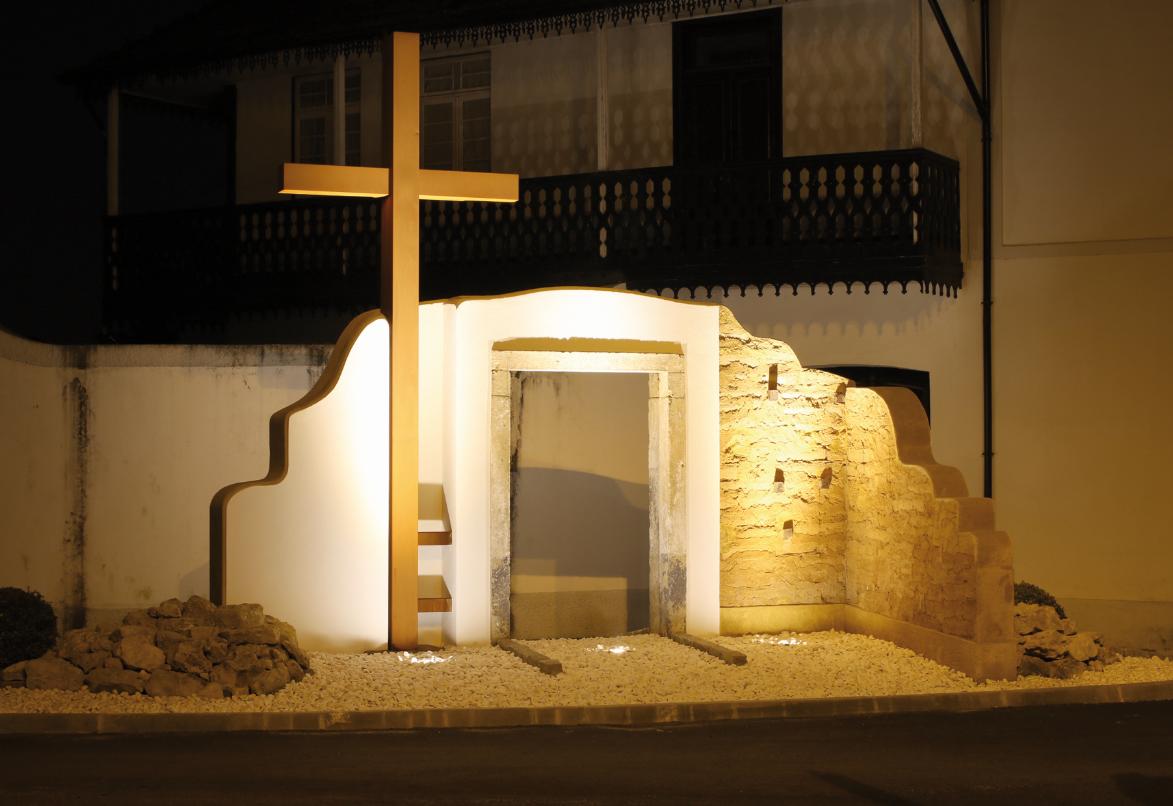 Antiga Capela de S. João em memorial