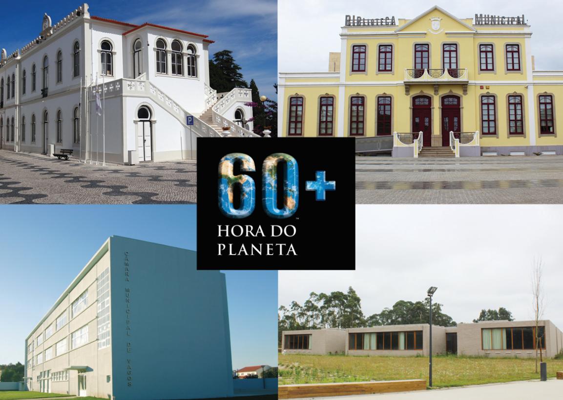 """Câmara Municipal de Vagos associa-se à """"hora do planeta"""""""