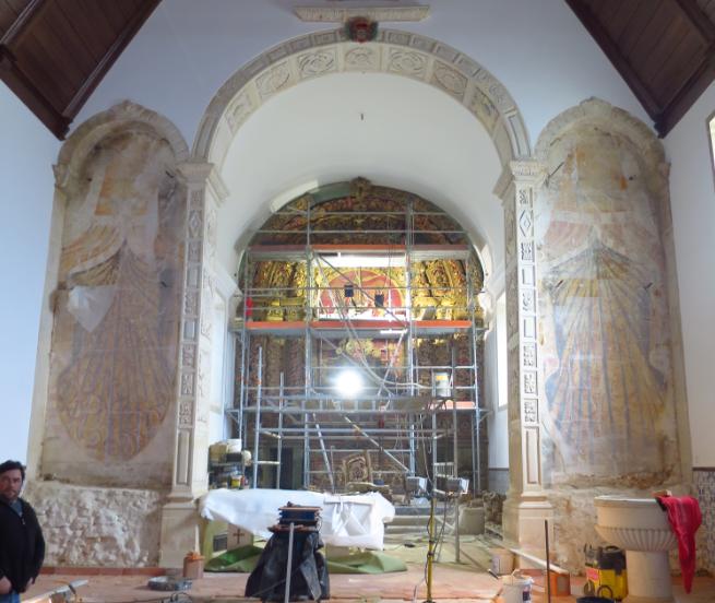 Igreja Matriz de O. do Bairro abre dia 6 de abril