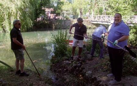 Limpeza do Parque das Termas mobiliza 107 voluntários