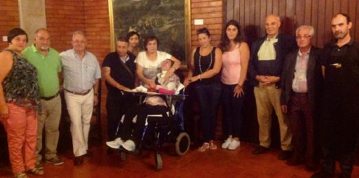 Associação do Luxemburgo entrega donativo a Paula Martins