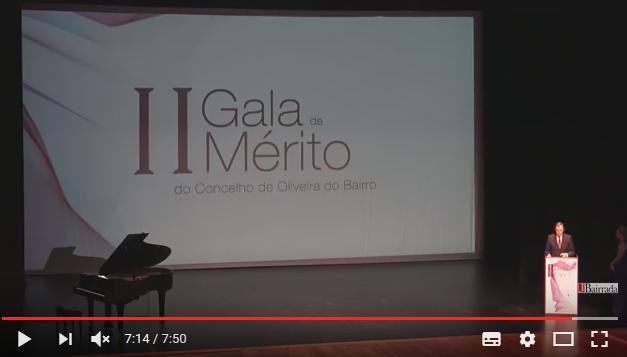 II Gala de Mérito do concelho de Oliveira do Bairro