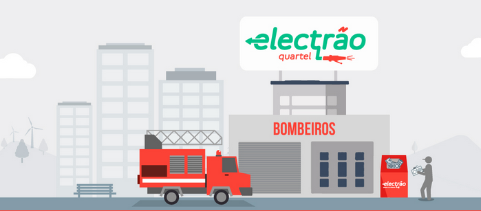 Bombeiros de Oliveira do Bairro aderem ao Quartel Electrão