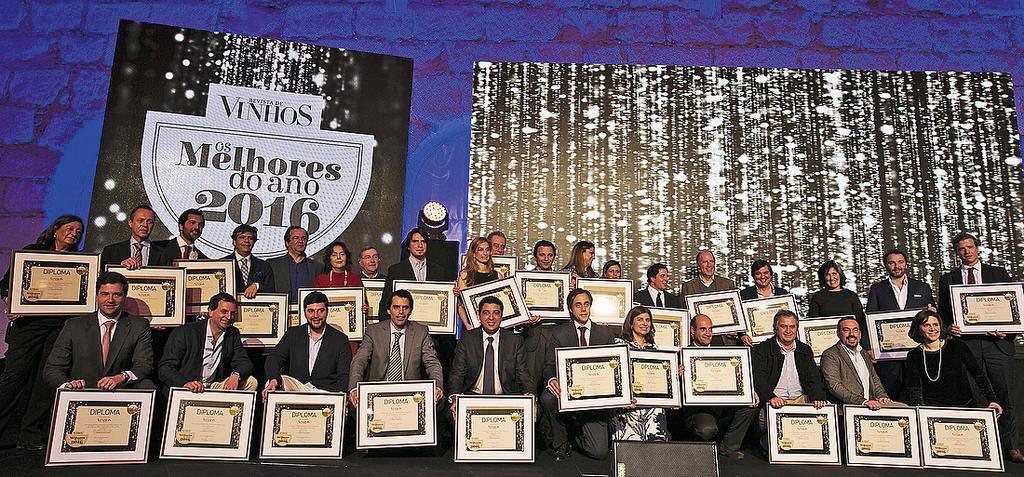 Bairrada distingue-se nos prémios 'Os Melhores do Ano 2016' da Revista de Vinhos