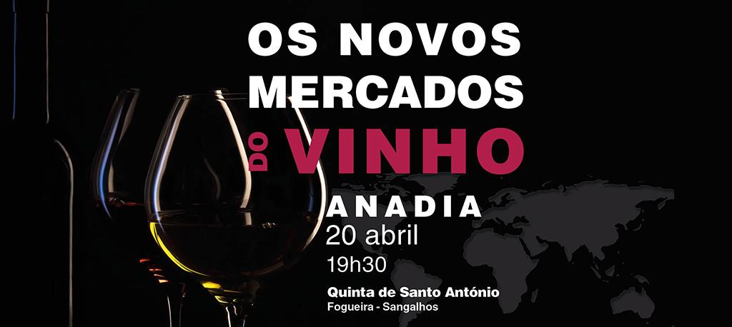 """JB e CMA organizam VII Jantar Conferência """"Os novos mercados do Vinho"""""""