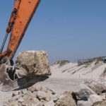 Praia da Vagueira: Reconstituição do cordão dunar a norte
