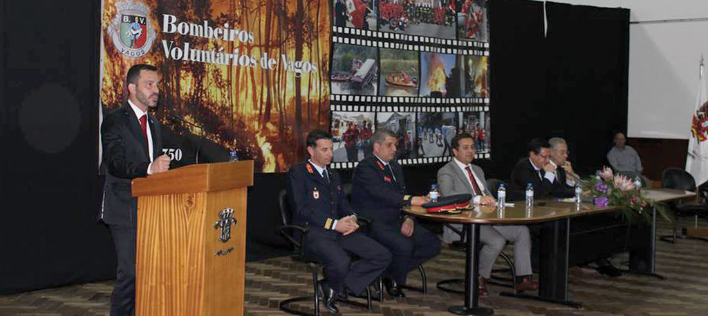 Bombeiros de Vagos: Presidente Nuno Moura toma posse