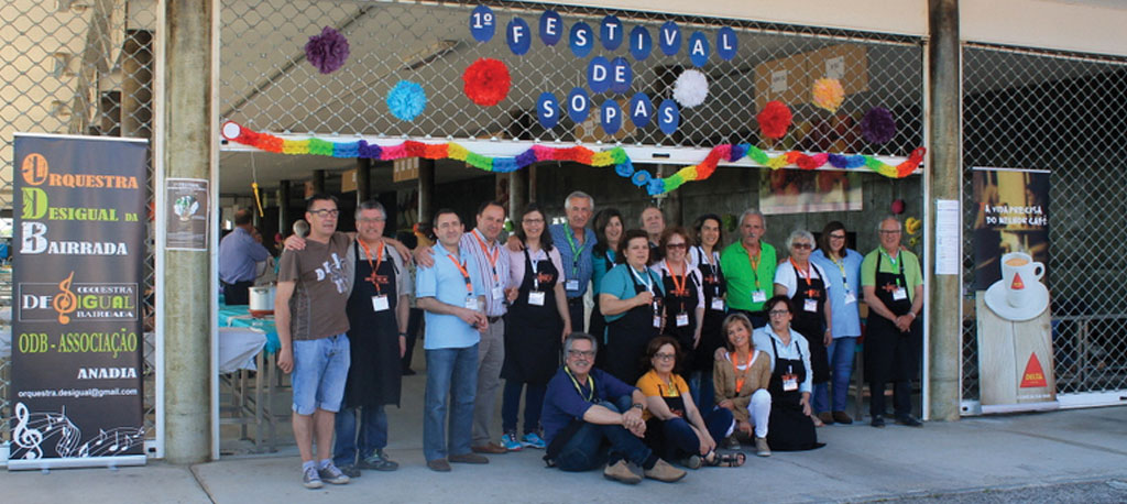 Anadia: Festival de Sopas Desigual bastante participado