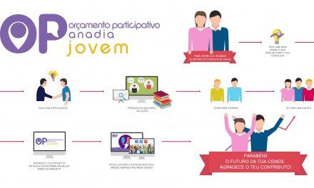 """Orçamento Participativo Anadia Jovem"""" vai ser explicado sexta-feira"""