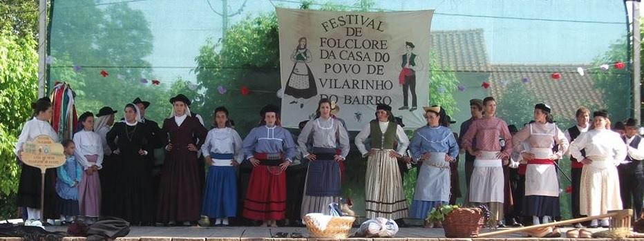 Rancho de Vilarinho do Bairro dança nas Termas da Curia