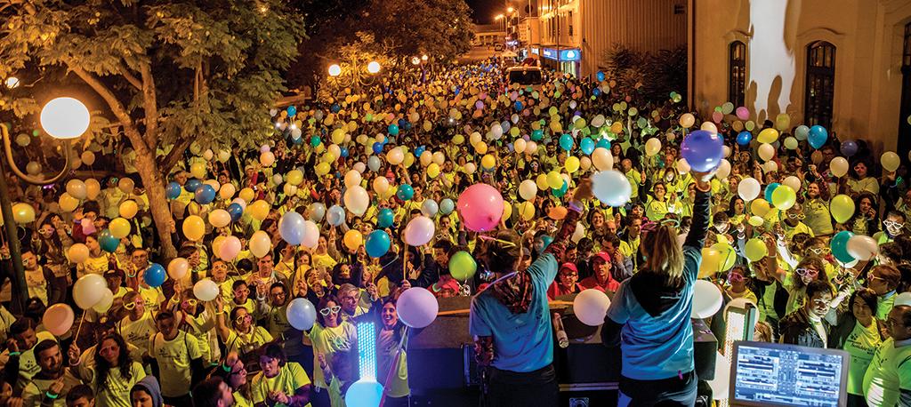 Oliveira do Bairro: Caminhada Solidária cresceu  e juntou mais de 3.000 participantes