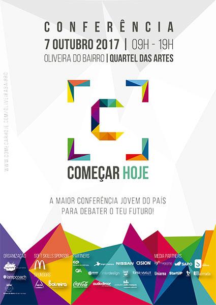"""Oliveira do Bairro: Conferência """"Começar Hoje"""" regressa em outubro"""