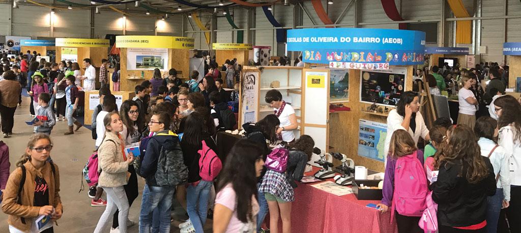 Oliveira do Bairro: Festival da Ciência atrai 7500 visitantes