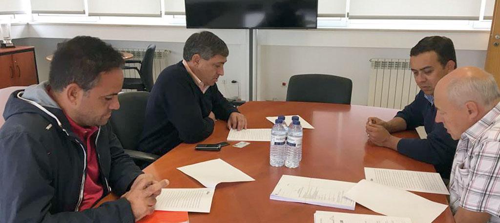 Vagos: Estrada Rines-Sanchequias – contrato de empreitada foi assinado