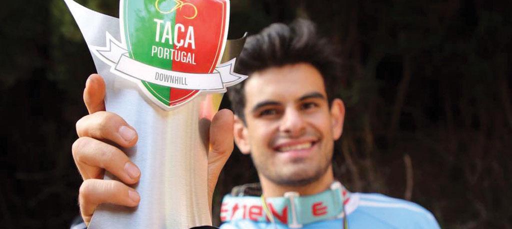Vasco Bica conquista Taça de Portugal de Downhill