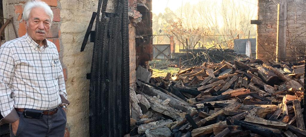 Bustos: Sucessão de incêndios leva Judiciária a investigar causas