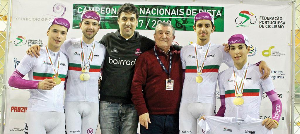 Clube Ciclismo da Bairrada com vários campeões nacionais