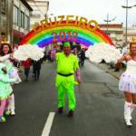 Carnaval de Oiã: Chuva cancelou desfile no domingo e assustou na terça-feira