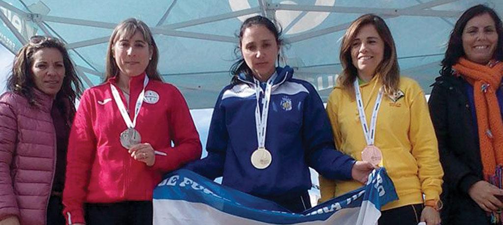 Sandra Leitão sagra-se vice-campeã nacional