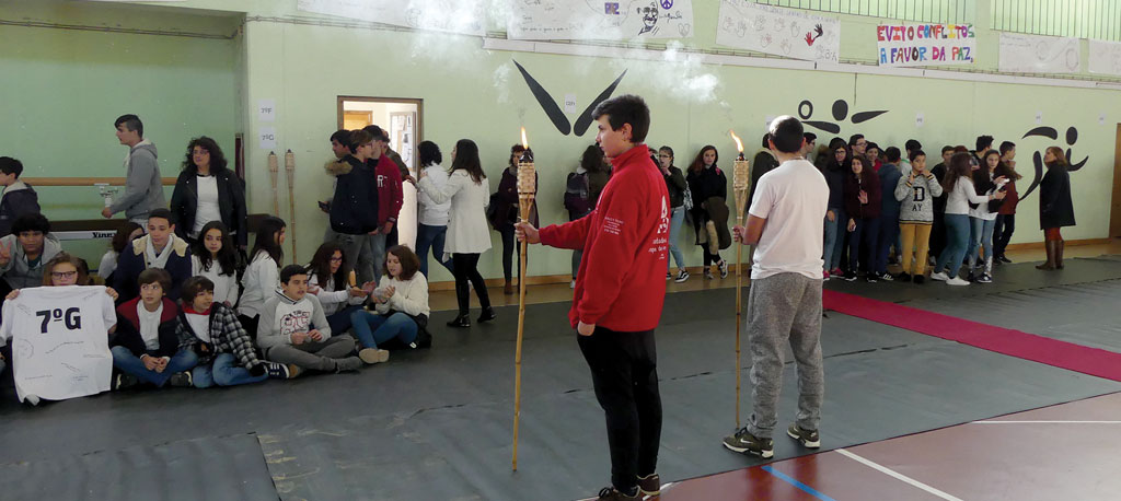 Oliveira do Bairro: Agrupamento de Escolas unido pela Paz