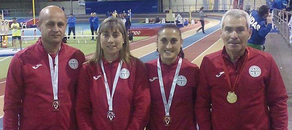 ADREP conquista cinco medalhas no nacional de veteranos