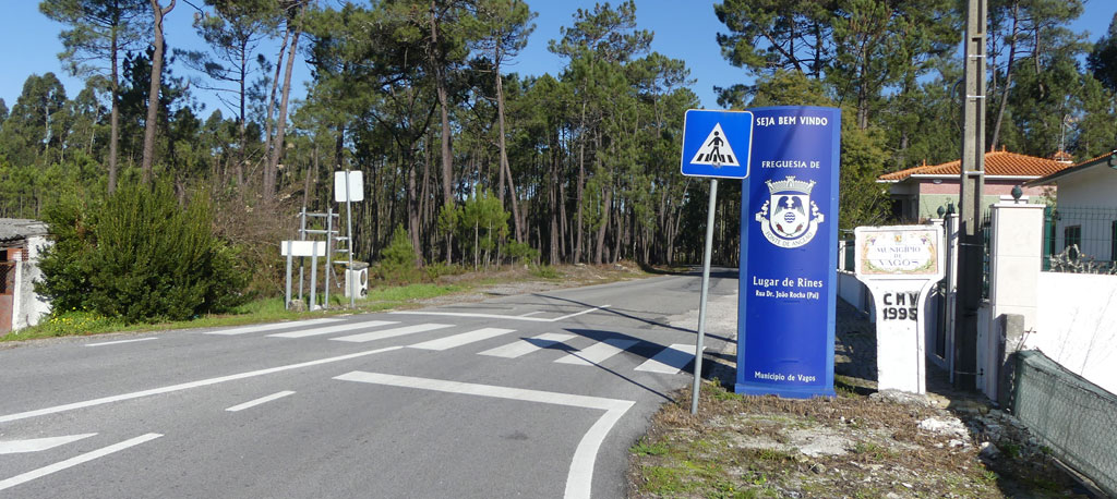Rines-Sanchequias: Obra já arrancou