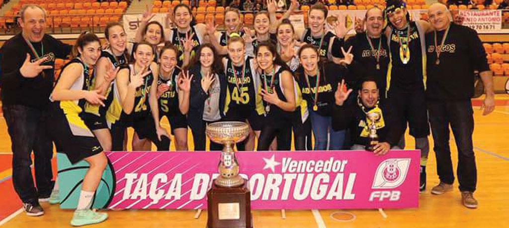 AD Vagos conquista a terceira Taça de Portugal