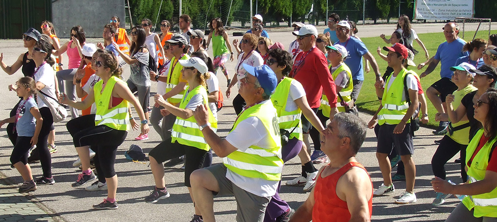 Oliveira do Bairro: Aeromix, ténis, caminhada e corrida no Parque Desportivo