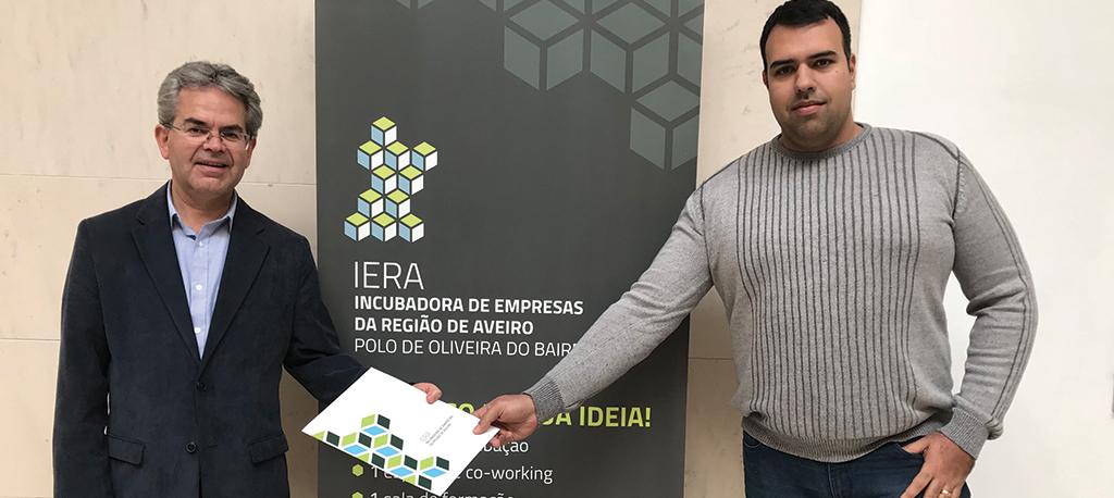 Oliveira do Bairro: Empresa de telecomunicações instala-se na Incubadora