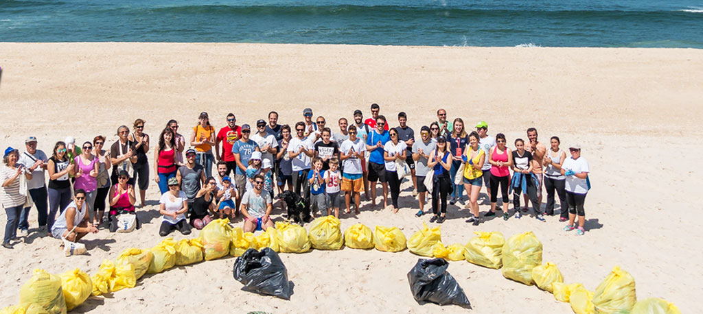 Beach Clean-Up na Praia da Tocha