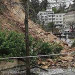 Chuva faz estragos na vila termal do Luso