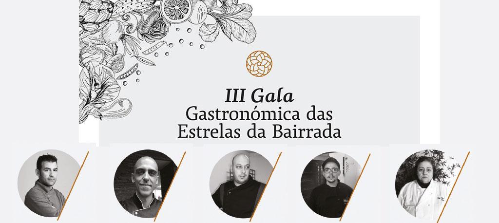 III Gala Gastronómica das Estrelas da Bairrada é no dia 12 de maio
