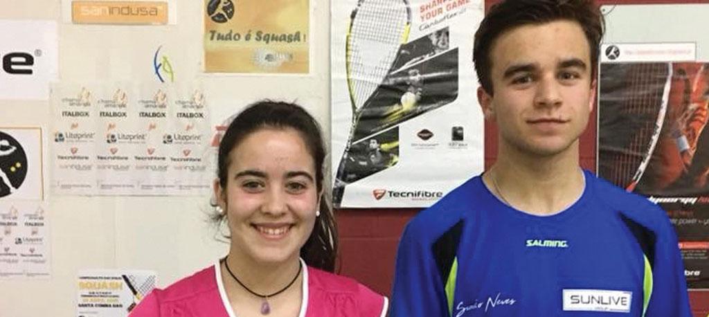 Beatriz Dias e Simão Neves sagram-se campeões nacionais